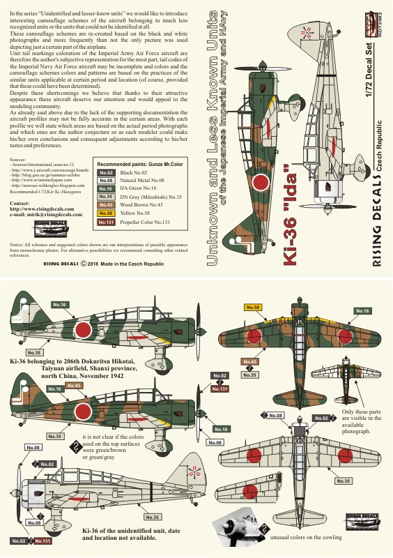72-082 Ki-36 instruction