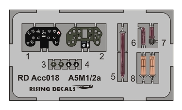 Acc-018 instrument panel for A5M1